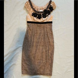 Anthropologie Tracy Reese 2 Dress Tweed Sequins